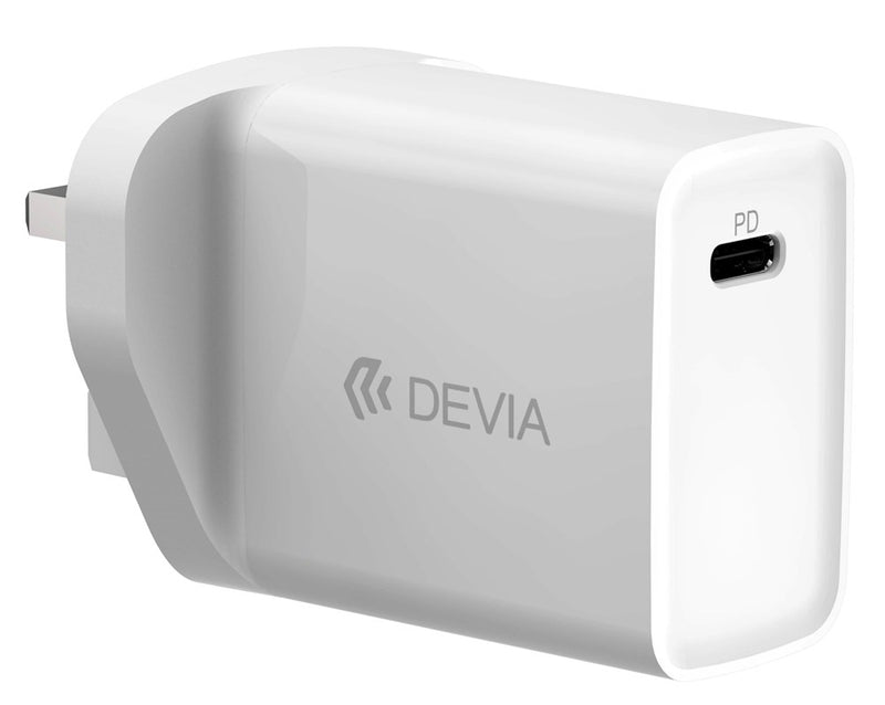 Devia PD & USB Mains Charger 18W