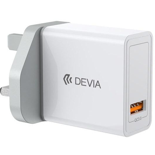 Devia USB Mains QC 3.0 Charger