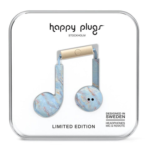 Happy Plugs Earbud Plus Blue Quartz