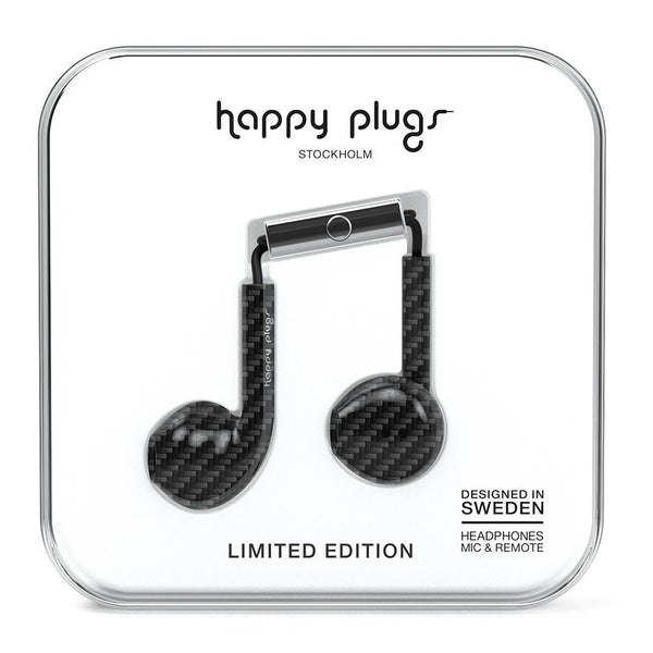 Happy Plugs Earbud Plus Carbon Fiber