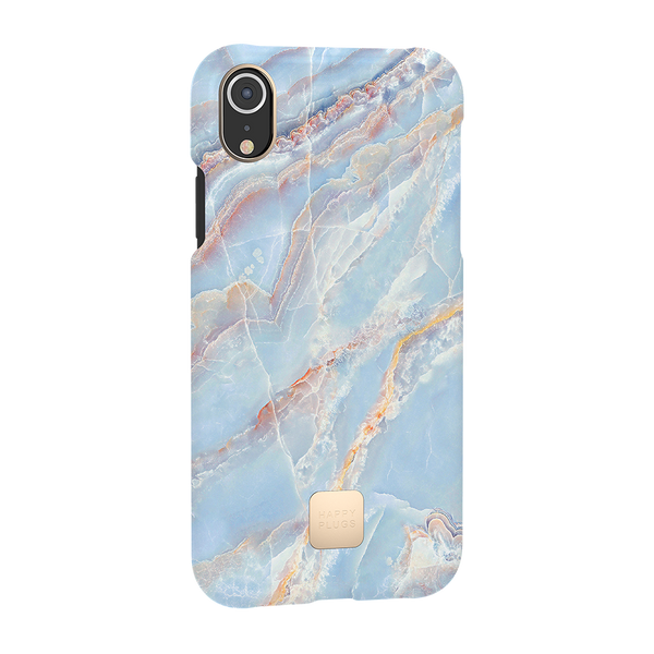 Happy Plugs iPhone XR Case Blue Quartz