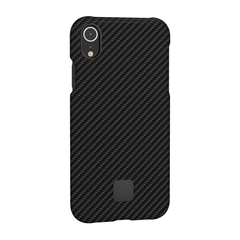 Happy Plugs iPhone XR Case Carbon Fiber