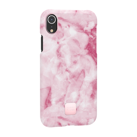 Happy Plugs iPhone XR Case Rose Marble