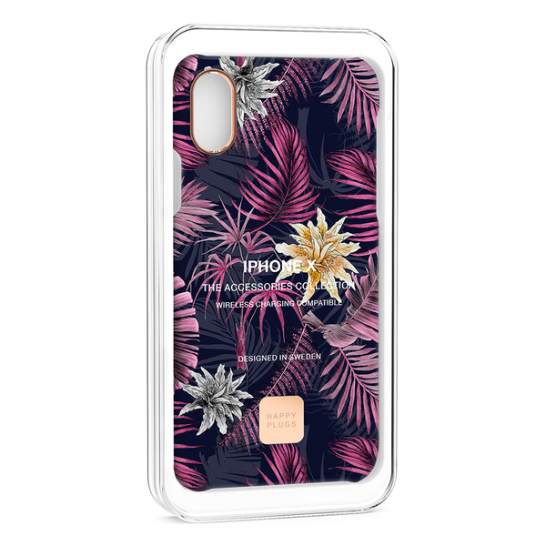 Happy Plugs iPhone XS Case Hawaiian Nights