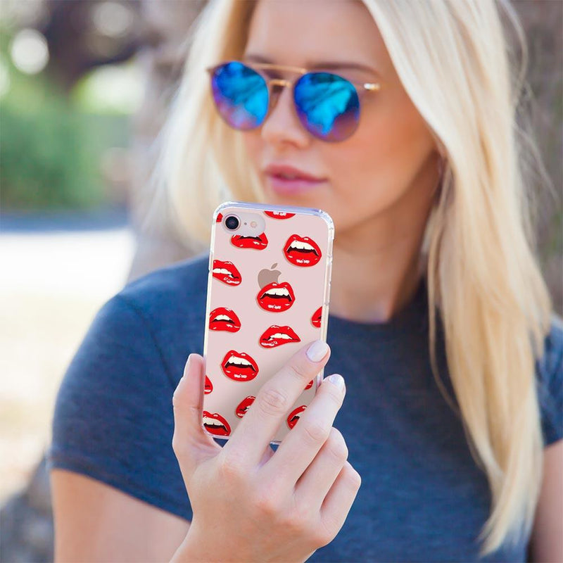 Casery Lips iPhone 8 Plus Case