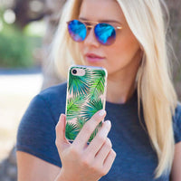 Casery Palm Leaves iPhone 8 Case