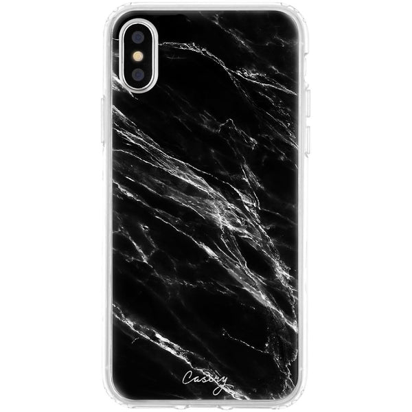 Casery Black Marble iPhone XS Case