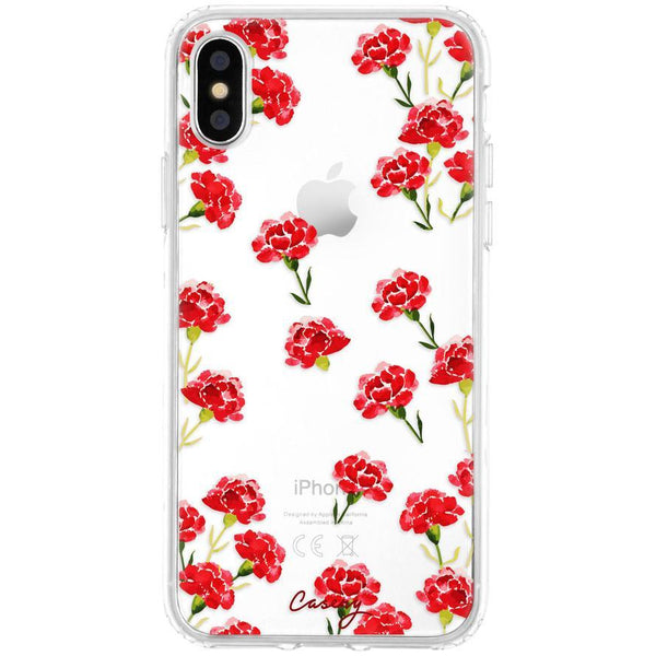 Casery Carnation Nation iPhone XS Case