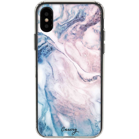 Casery Cloudy Marble iPhone XS Case