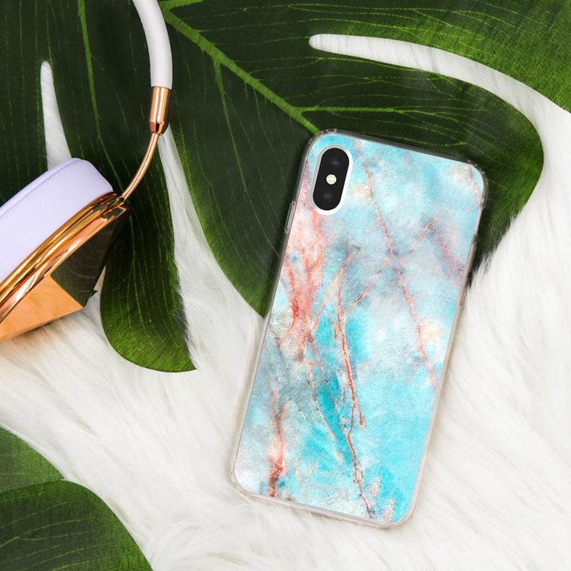 Casery Frosty Marble iPhone XS Case