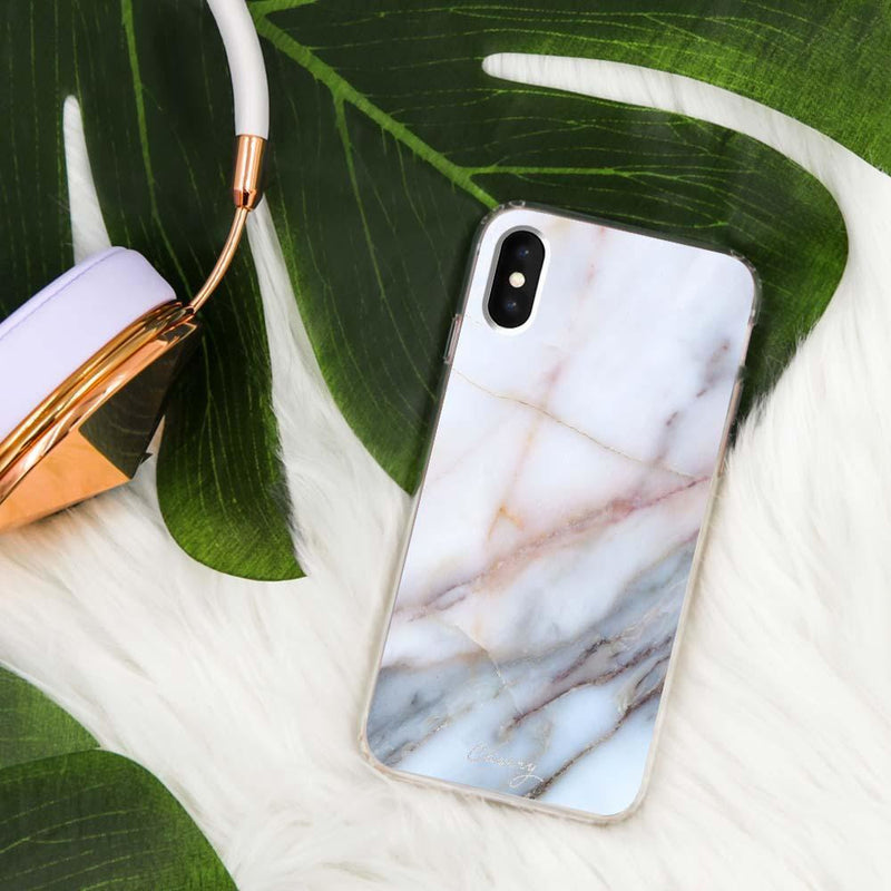 Casery Neutral Marble iPhone XS Case