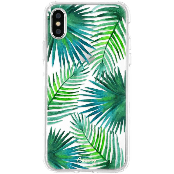 Casery Palm Leaves iPhone XS Case