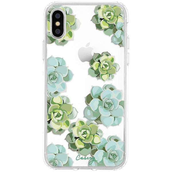 Casery Succulents iPhone XS Case