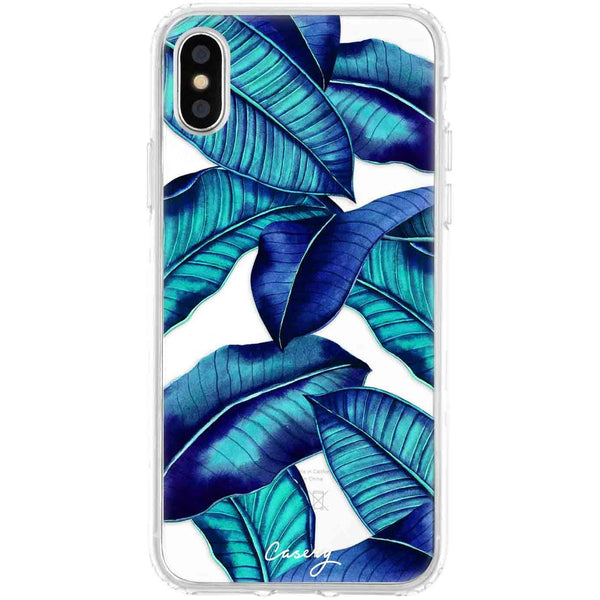 Casery Tropical Leaves iPhone XS Case
