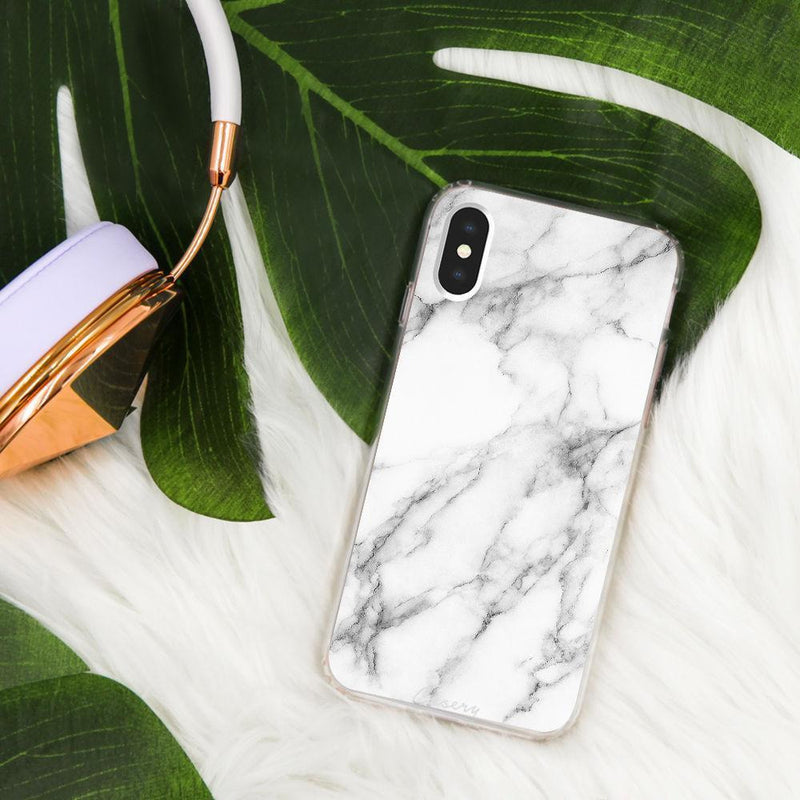 Casery White Marble iPhone XS Max Case