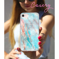Casery Frosty Marble iPhone 8 Case