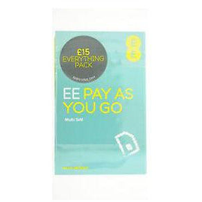EE Pay As You Go 4G 3-in-1 Sim Card