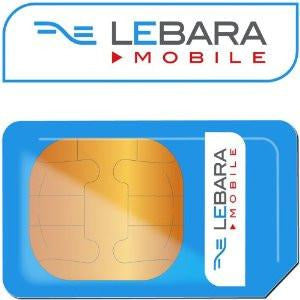 Lebara Mobile Pay As You Go 3-in-1 Sim Card
