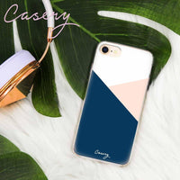 Casery Colour Block iPhone 8 Plus Case
