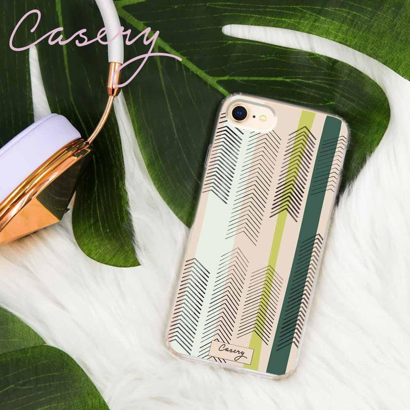 Casery Green Arrows iPhone 8 Plus Case