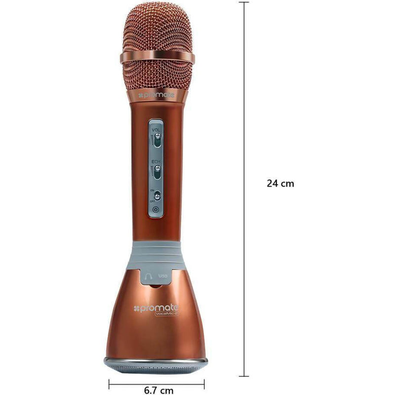 Promate Bluetooth Karaoke Microphone Speaker