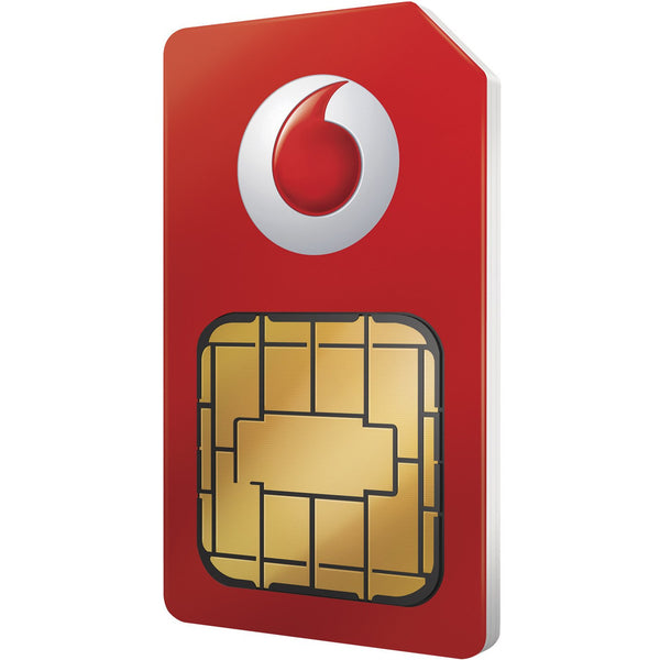 Vodafone Pay As You Go 3-in-1 Sim Card