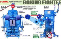 remote control boxing fighter