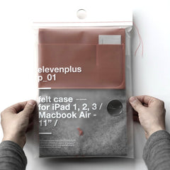 11 + feltcase ipad macbook air