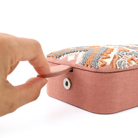 印度刺繡飾物盒 Indian Embroidery Accessory Case