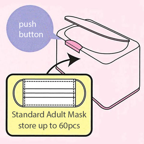 史努比口罩收納盒 Snoopy Mask Storage Case