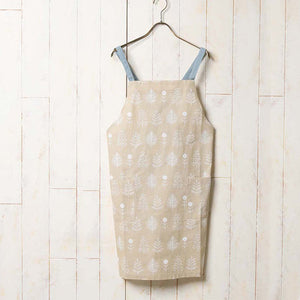Habitual 素色全棉圍裙 - 米色 Habitual Natural Apron - Beige