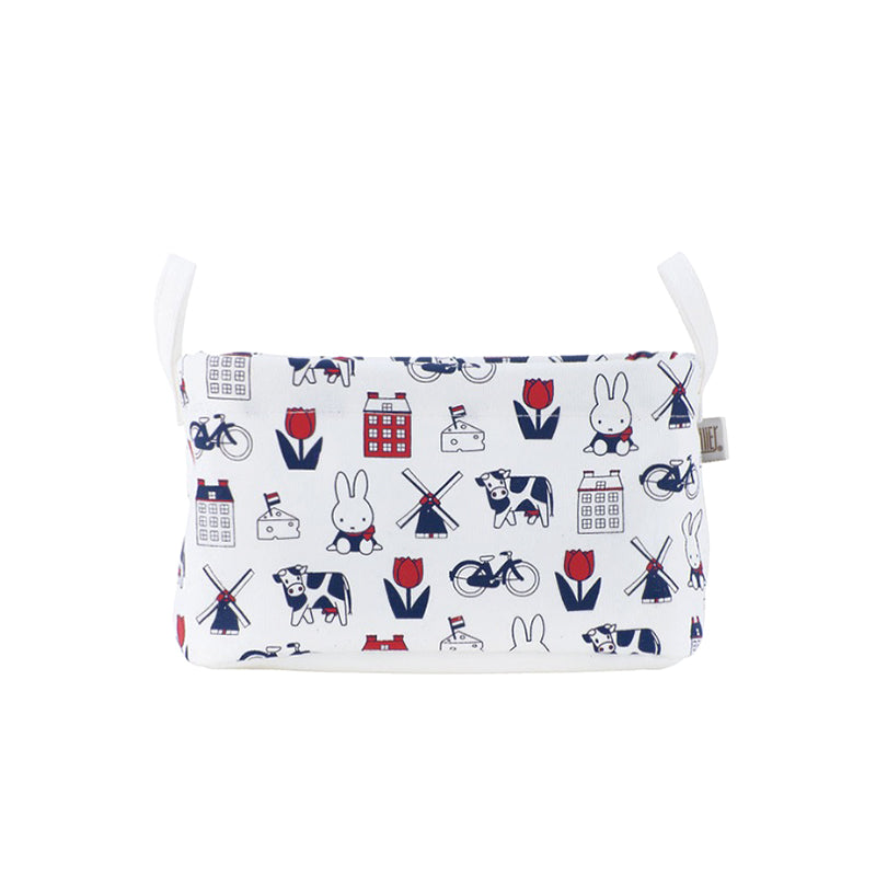 Miffy 儲物籃 - Dutch Motif*Miffy Storage Basket - Dutch Motif