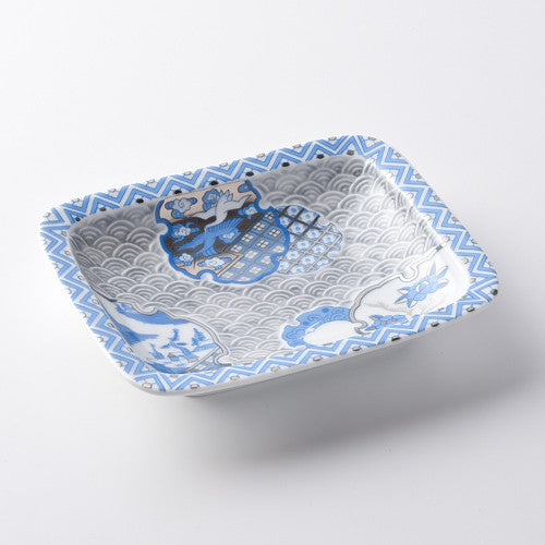 林九郎窯手工飾碟 Rinkuro Hasami Porcelain Decorative Dish