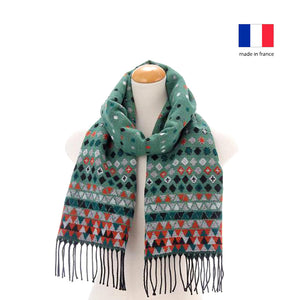 法國製圍巾 French Muffler - Winter Forest