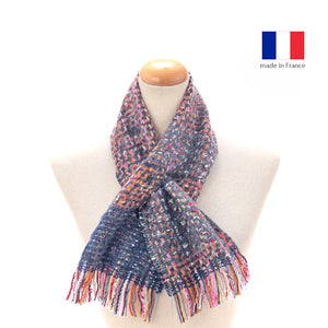 法國製混羊毛短圍巾 French Wool Blend Short Muffler