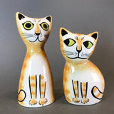 陶瓷貓咪調味瓶套裝 - 啡色 Ceramic Cat Salt & Pepper Shaker Set - Brown