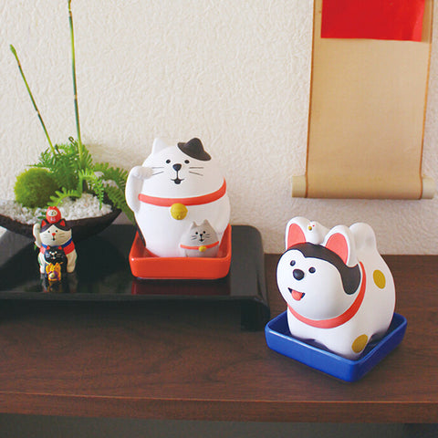 吉祥貓陶瓷加濕器 Auspicious Cat Ceramic Humidifier