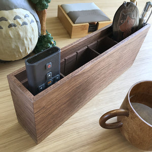 Kochi胡桃實木小物座 Kochi Walnut Wood Pen Stand