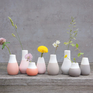 Rader瓷器小花瓶套裝 Rader Little Porcelain Vase Set