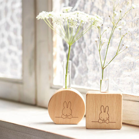 Miffy 木花瓶 Miffy Wooden Vase