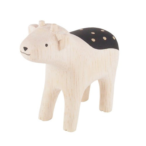 森林動物木製擺設 Forest Animals Wooden Doll