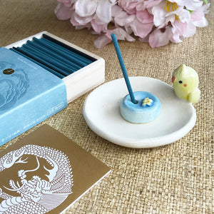小鸚鵡手工香座 Little Parrot Incense Holder