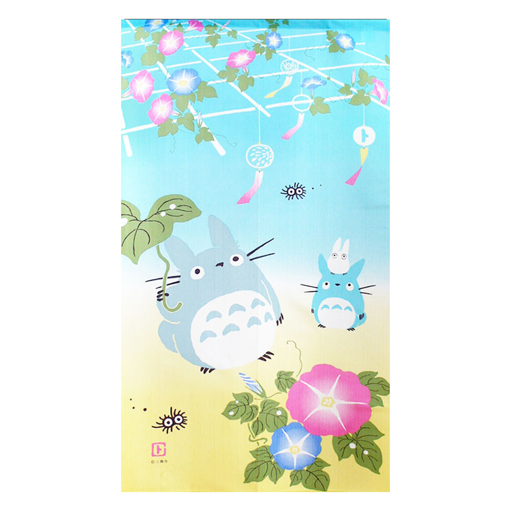 龍貓日本製長門簾 - 牽牛花 Totoro Long Door Curtain - Morning Glory