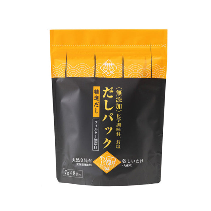 無双昆布椎茸高湯包(8包)*Muso Kombu Shiitake Dashi (8packs)