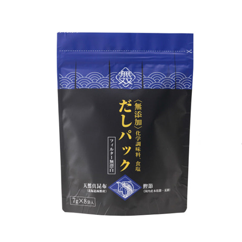 無双鰹昆布高湯包(8包)*Muso Bonito Kombu Dashi (8packs)