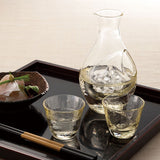 琥珀焼酎冷酒器套裝 (一套3件)*Amber Shochu Bottle & Glasses Set (A set of 3)