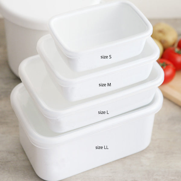 野田琺瑯食物貯存盒 Nado Horo Food Storage Box