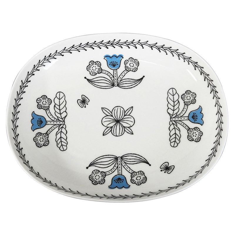 花草橢圓形餐碟套裝 Botanic Oval Pair Plate Set