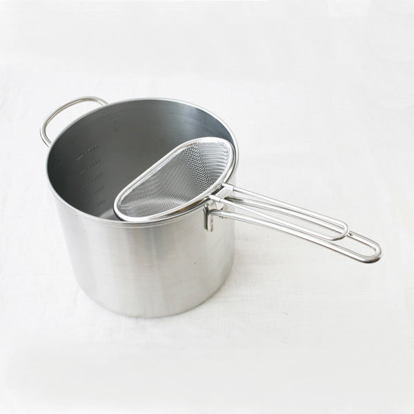 日本不銹鋼撈勺 Japan Stainless Steel Strainer