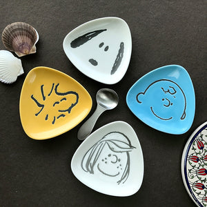 Snoopy 三角形餐碟 Snoopy Triangle plate